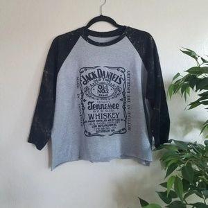 Jack Daniel's Old Time Crop Bleached Tee